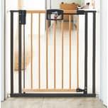 Geuther Türschutzgitter Easy Lock Wood Holz Metall 68 - 76 cm