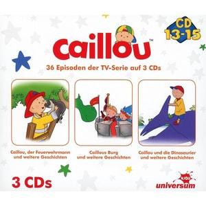 CD Caillou Hörspielbox 5 CD 13-153 CDs
