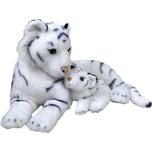 Wild Republic Mama und Baby Weiße Tiger