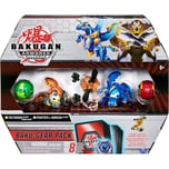 Spin Master Bakugan Baku-Gear Pack mit 4 Armored Alliance Bakugan Ultra Aurelus Tretorous Ultra Pega