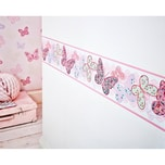 Decofun Bordüre Schmetterlinge 156 cm x 5 m