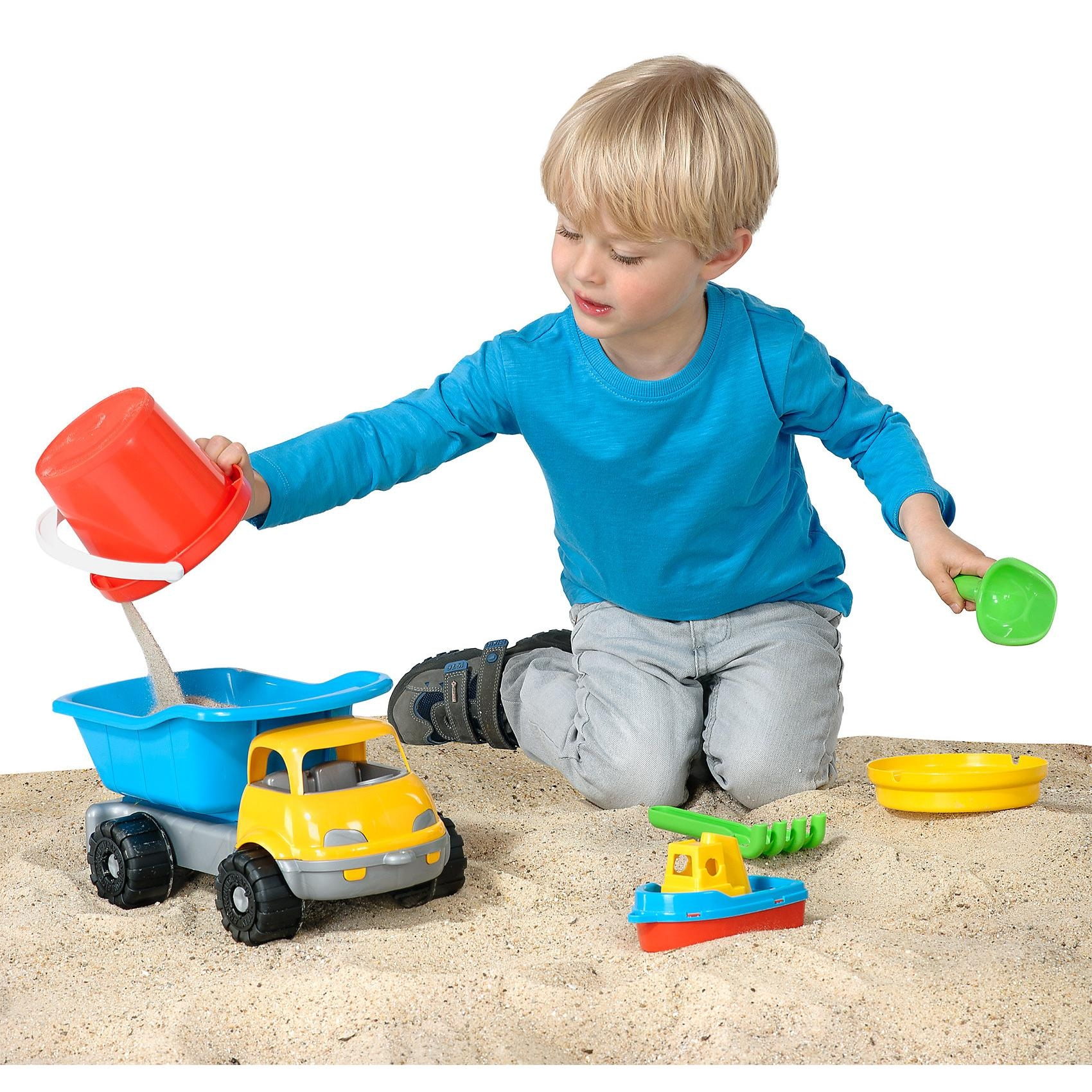 MyToys Sandkipper mit Zubehör 6-teilig