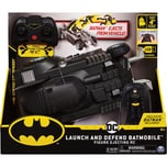 Spin Master Batman ferngesteuertes Batmobil mit Schleuderfunktion und exklusiver 10cm großer Batman