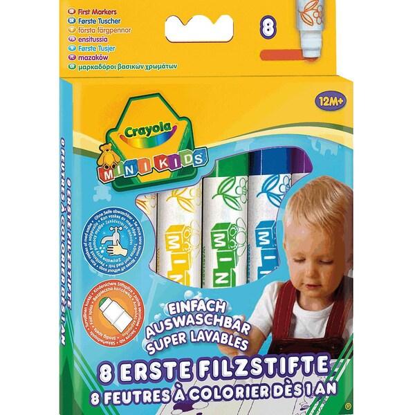 Crayola Mini Kids Filzstifte 8 Farben