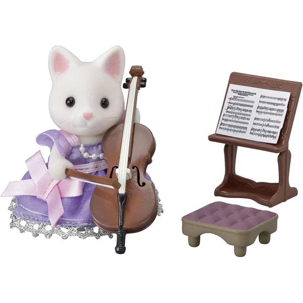 Epoch Traumwiesen Sylvanian Families Cellokonzert Set inkl. 1 Figur