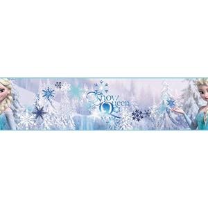 Decofun Bordüre Die Eiskönigin Elsa 15,9 cm x 5 m
