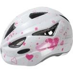 Abus Fahrradhelm ANuky Herzchen weiß heart