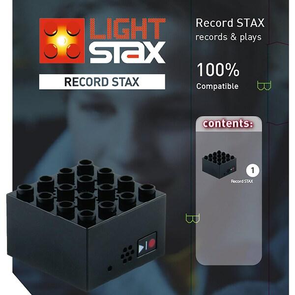 Light Stax Record Stax Aufnehmen und Abspielen