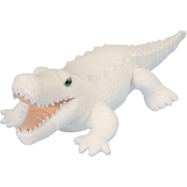 Wild Republic Ck White Alligator