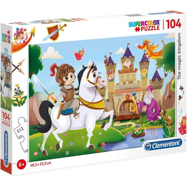 Clementoni Puzzle 104 Teile Schloss