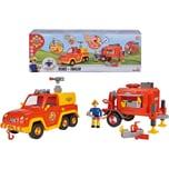 Simba Feuerwehrmann Sam Venus mit Anhänger und Figur