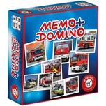 Piatnik Memo + Domino Feuerwehr