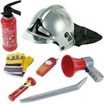 Klein Spielzeug Feuerwehr Set 7-teilig