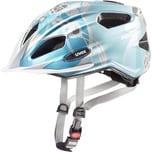 Uvex Fahrradhelm Quatro Junior Lightblue Silver