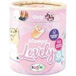 Aladine Stampo Lovely City Girl Stempel-Set