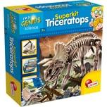 Lisciani Kleines Genie Ausgrabungsset Triceratops