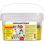 Eberhard Faber Modelliermasse EFA Plast Kids 2 kg weiß inkl. 14 Farben