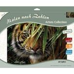 Mammut Spiel und Geschenk Malen nach Zahlen Artists Collection Tiger 40 x 30 cm