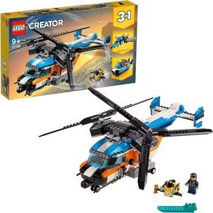LEGO 31096 Creator: Doppelrotor-Hubschrauber