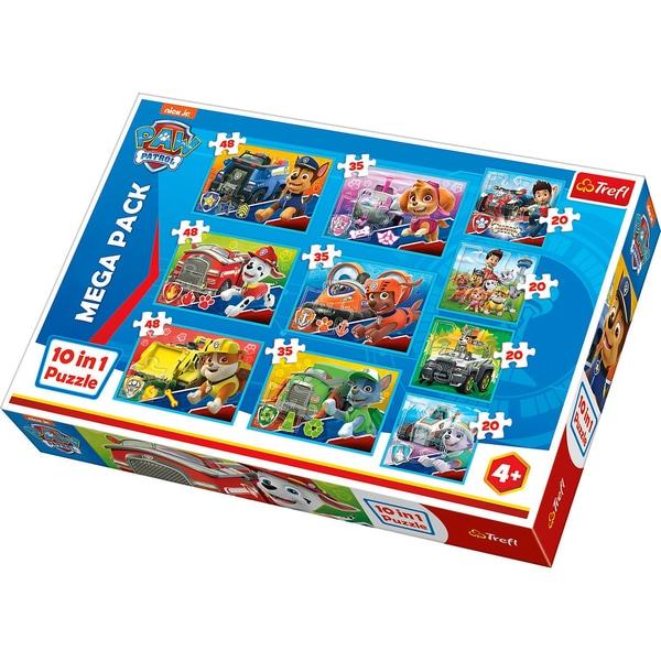 Trefl 10in1 Puzzle PAW Patrol 203548 Teile - Exklusiv bei myToys