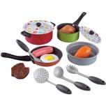 Playgo Kochgeschirr für Spielküche 15 Teile