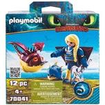 PLAYMOBIL® PLAYMOBIL® 70041 Astrid mit Fluganzug und Hobgobbler