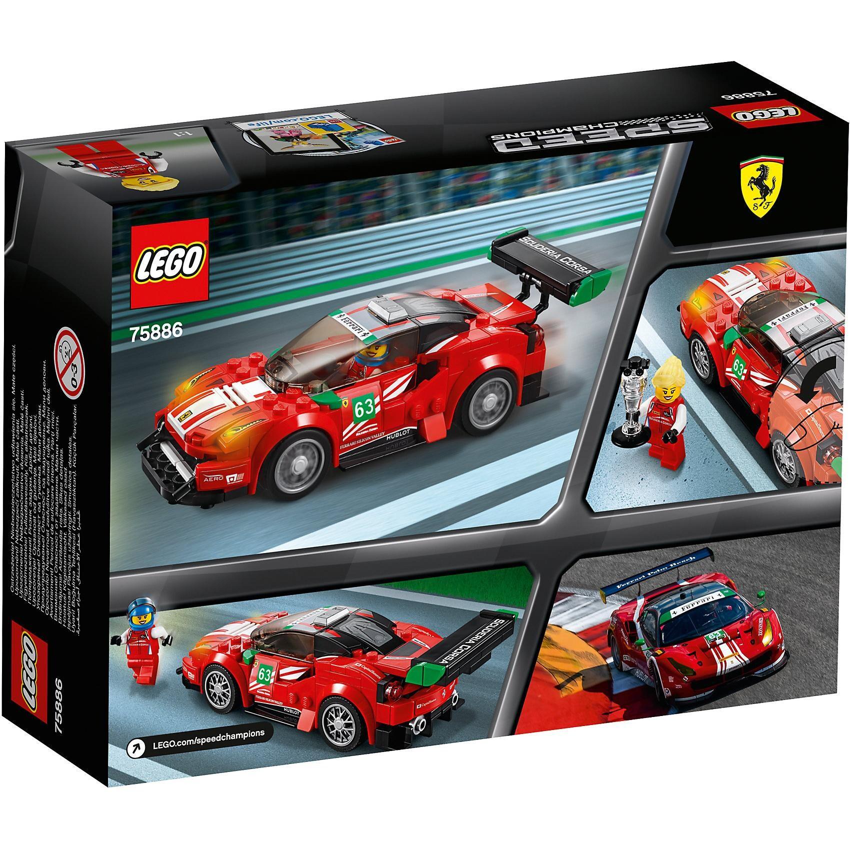 Lego Speed 75886 Ferrari 488 GT3 Scuderia Corsa