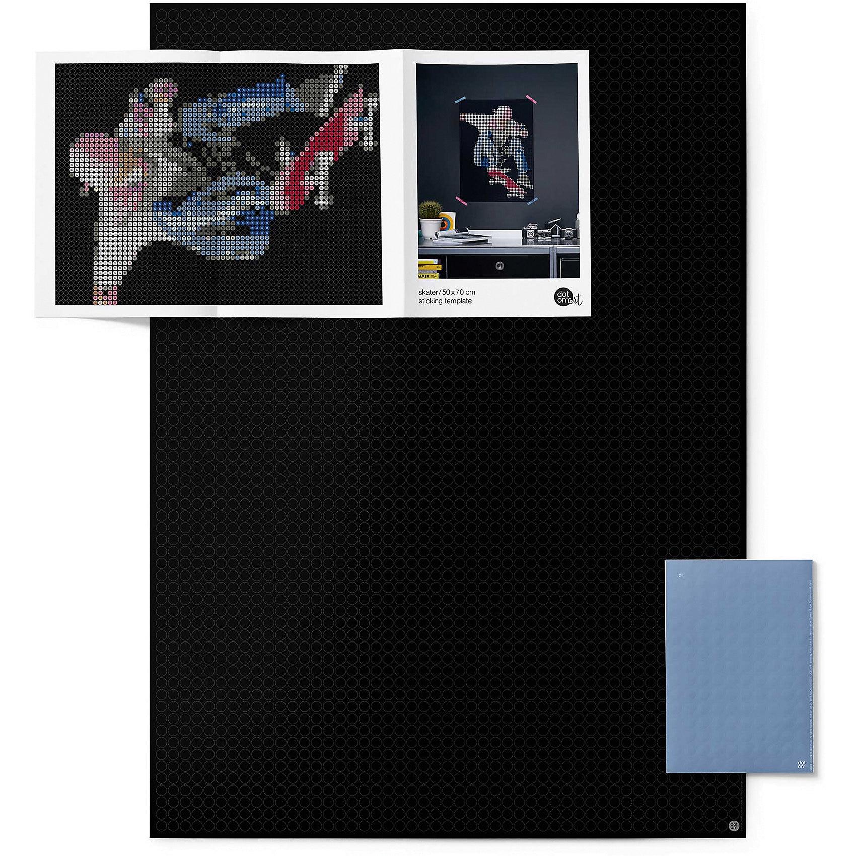 dot on dot on art - skater 50 x 70 cm