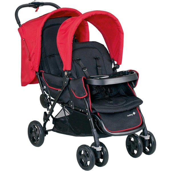 Safety 1st Geschwisterwagen Duodeal Plain Red 2017