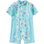 KANZ Baby Schwimmanzug mit UV-Schutz für Mädchen Ananas