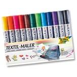 Folia Textilmaler 12 Farben