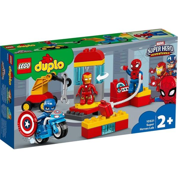LEGO DUPLO 10921 Iron Mans Labor-Treffpunkt