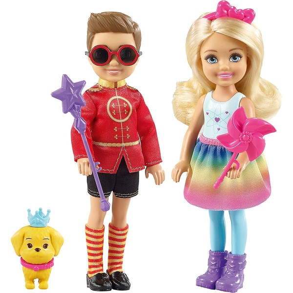 Mattel Barbie Dreamtopia Chelsea und Prinz Otto Puppenset
