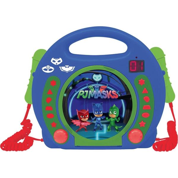 Lexibook PJ Masks Kinder CD-Player mit 2 Mikrofonen