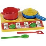 Klein Spielzeug Casa Mia Kochplattenset