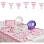 Amscan Partyset Welcome Little One Girl 53-tlg.