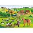 Ravensburger 2er Set Puzzle je 12 Teile 26x18 cm Fleißig auf dem Bauernhof