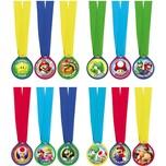 Amscan Sieger-Medaillen Super Mario 12 Stück