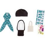 Corolle Puppenkleidung Set Taschen und Mütze