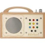 hörbert MP3 Player aus Holz