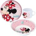P:OS Kindergeschirr Melamin Minnie Mouse 3-tlg.