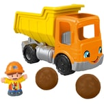 Mattel Fisher-Price Little People Kipplaster Spielfiguren-Set Spielzeugauto Spielset