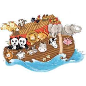 Roommates Wandsticker Noah'S Ark 14-Tlg.