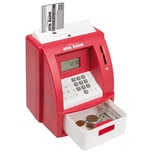 Idena Geldautomat rot