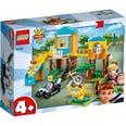 LEGO 10768 Juniors Toy Story 4: Buzz Porzellinchens Spielplatzabenteuer