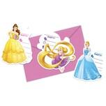Procos Einladungskarten Disney Princess Heartstrong 6 Stück inkl. Umschläge