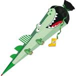 Roth Ideen Bastelset 3D Motiv-Schultüte Krokodil vom Nil 80 cm