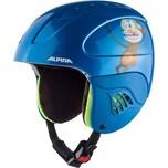 Alpina Skihelm Carat blue Monkey 48-52