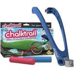 Chalktrail Straßenmalkreide fürs Rad blau