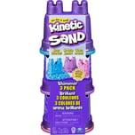 Spin Master Kinetic Sand Schimmer Sand 3er Pack 340 g